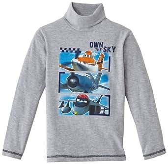 Disney Boy's HM1103 T-Shirt  - Grey - Gris (Gris Clair) - 3 years (Brand size:  3 ans)
