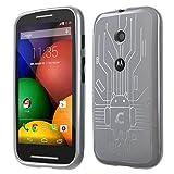Motorola Moto E Cruzerlite Bugdroid Circuit Case For Motorola Moto E - Clear