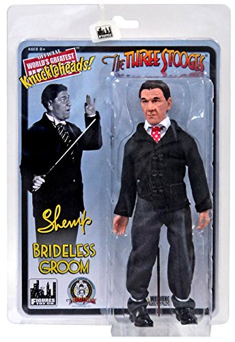 "The Three Stooges Brideless Groom Shemp 8"" Action Figure"