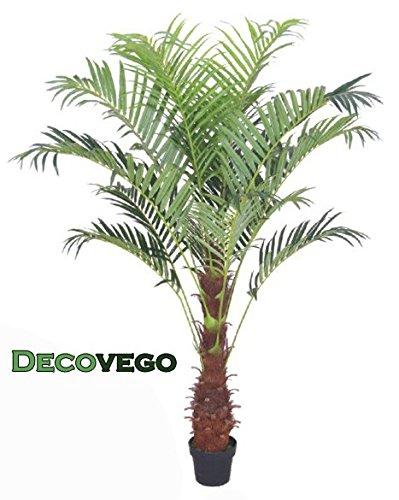 Palme-Palmenbaum-Arekapalme-Kunstpflanze-Kunstbaum-Knstliche-Pflanze-180cm-Decovego