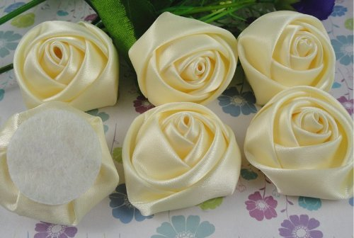 15pcs-big-satin-ribbon-rose-flower-diy-craft-wedding-appliques-lots-ivory-by-applique