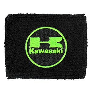 Kawasaki Brake Reservoir Sock Cover Available in Black/Green and Black/Red, Fits ZX-6R, ZX-9R, ZX-10R, ZX-12R, ZX-14R, ZX6, ZX9, ZX10, ZX12, ZX14, Ninja