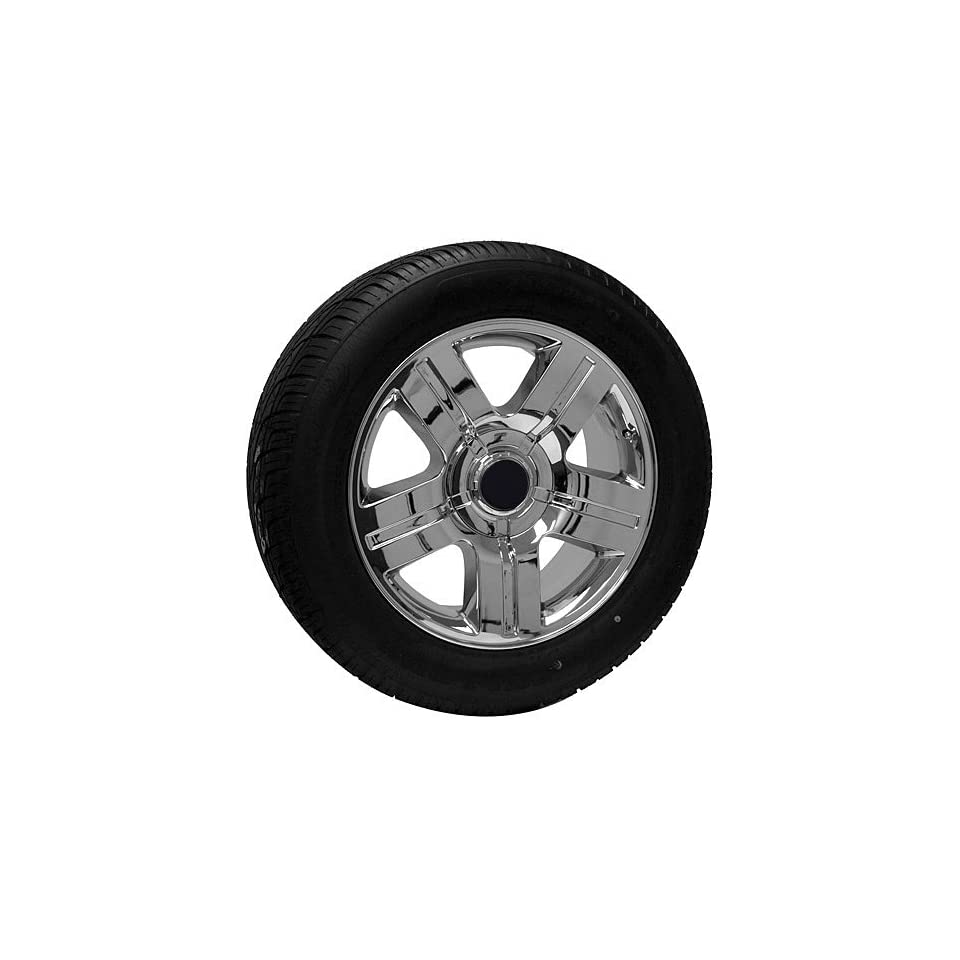 20 inch chrome Chevy truck wheels rims tires fits Silverado Suburban