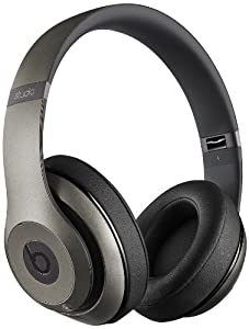 Beats by Dr. Dre Studio Wireless Over-Ear Headphones - Titanium