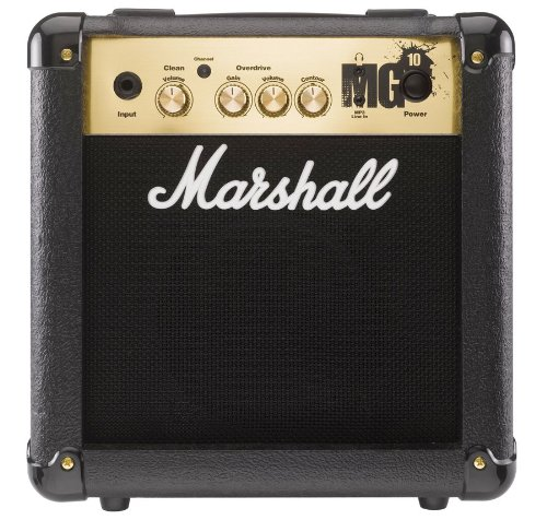 Marshall MG10 Guitar Combo Amplifier - 6.5 Inch, 10 Watts, 2 Channels