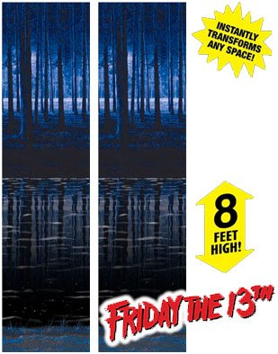 Friday the 13th Jason Voorhees Camp Crystal Lake Decals