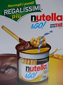 Nutella & Go With Ice Tea Limone 12 Packages Original From Italy