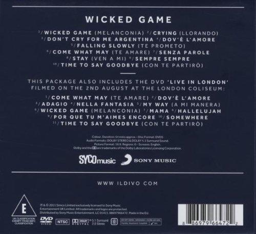 Download cd il divo wicked game losercup - Il divo download torrent ...