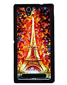 Aart Designer Luxurious Back Covers for Sony Xperia C3 + 3D F2 Screen Magnifier + 3D Video Screen Amplifier Eyes Protection Enlarged Expander by Aart Store.