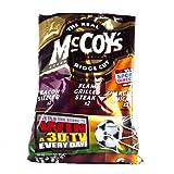 McCoys Meaty Crisps 6 Pack 210g