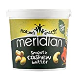 Meridian Natural Cashew Butter 1kg Smooth