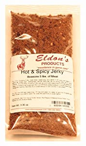 Eldon's Sausage and Jerky Supply Hot and Spicy Jerky Seasoning, 0.235 Pound by Eldon's Sausage and Jerky Supply