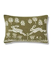 Chenille Hares Cushion