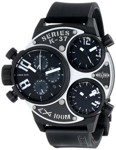 時計 Welder ウェルダー Unisex 6502 K37 Analog Display Quartz Black Watch メンズ 男性用 [並行輸入品]