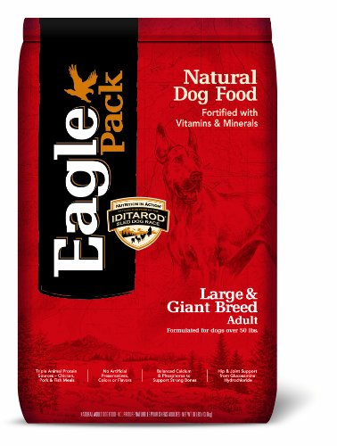 Eagle Pack Natural Pet Food, Large and Giant Breed Adult Formula for Dogs, 30-Pound Bag