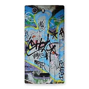 Gorgeous Random Art Multicolor Back Case Cover for Canvas Nitro 2 E311