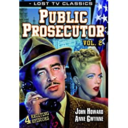 Public Prosecutor, Volume 2 (Lost Television Classics)