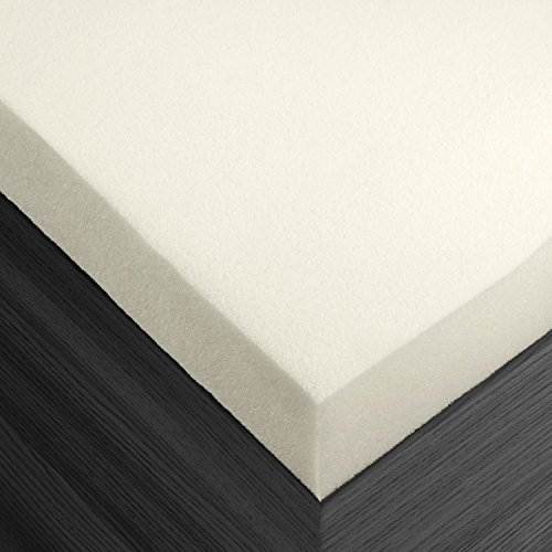 Premium Ventilated 2 Inch Memory Foam Mattress Bed Topper Pad, Queen , 3 Year Guarantee