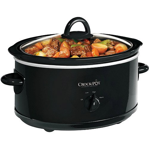 Crock Pot SCV700-B 7 Quart Black Oval Slow Cooker by Crock-Pot (Crock Pot 7 Qt Lid compare prices)