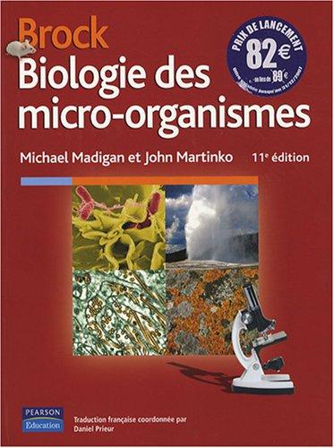 Biologie des micro-organismes brock