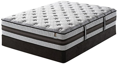 Luxury Home Iseries Super Pillowtop Merit Mattress Set By Serta, King