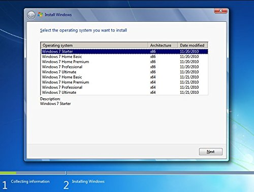 Windows 7 All in One (Starter,