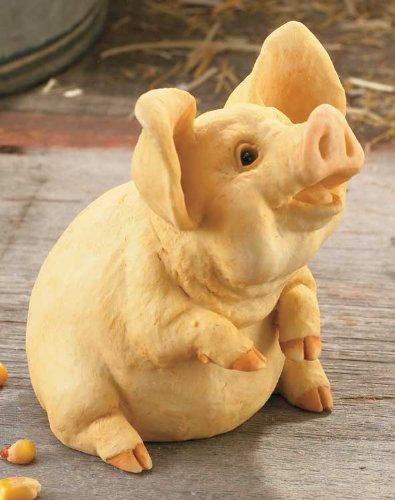 Poppycock Small Pig Sculpture Sculpture - 1