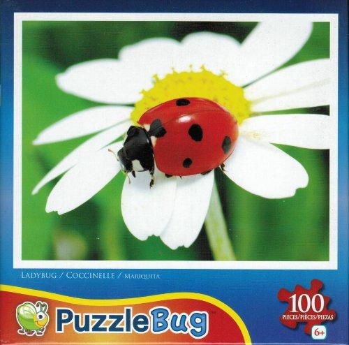 Puzzlebug 100 Piece Jigsaw Puzzle - Ladybug - 1