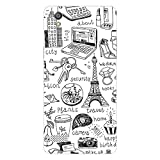 Garmor Designer Plastic Back Cover For Vivo Y31L