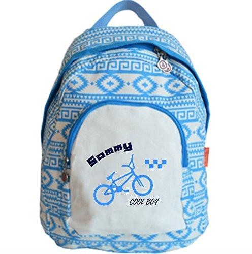 bulbby-kinderrucksack-limited-edition-mittelblau-wiess-mit-namen-bmx