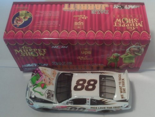 action-nascar-dale-jarrett-88-ups-muppets-25th-anniversary-2002-ford-taurus-1-of-28140-limited-editi