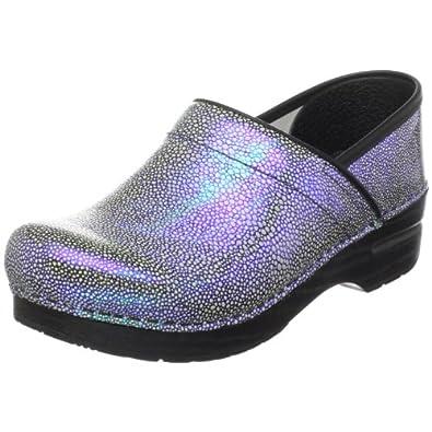 , Iridescent Blue, 39 EU / 8.5-9 M US: Clogs And Mules Shoes: Shoes