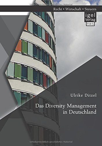 diversity management in japan and germany Cross cultural diversity management  of four they were successful and began selling internationally however they were not so successful in japan.