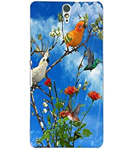 SONY XPERIA C5 BIRDS Back Cover by PRINTSWAG