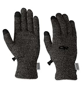 Outdoor Research Men's Biosensor Liners (Charcoal, Small)