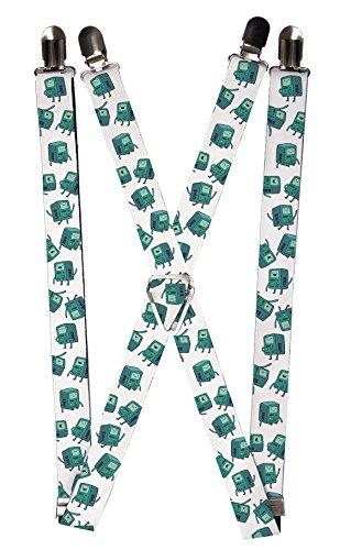 Buckle-Down Suspenders Choose Your Favorite Design!!! (Adventure Time Bmo)