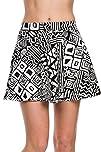 2LUV Womens Tribal Print Skater Skirt