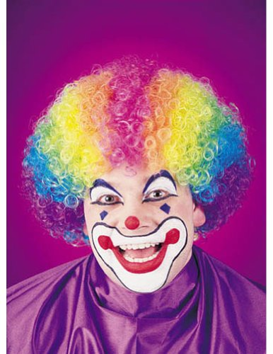Rainbow Clown Halloween Costume - 1 size