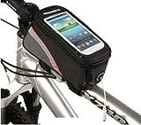 Roswheel 2013 New Waterproof Bicycle Cycling Frame Pannier Front Tube Bag w/ Headphone Jack (Includi
