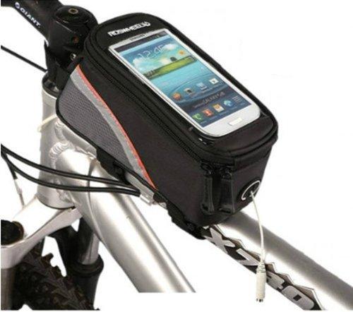 Big Save! AGPtek® Roswheel 2013 New Waterproof Bicycle Cycling Frame Pannier Front Tube Bag w/ Head...
