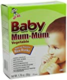 Baby Mum-Mum Vegetable Flavor Rice Biscuit, 24-pieces (Pack of 6)
