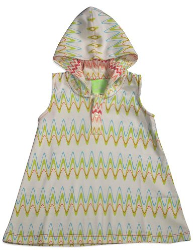 Snopea - Baby Girls Frazzle Razzle Dress, White, Multi 29685-6Months front-534864