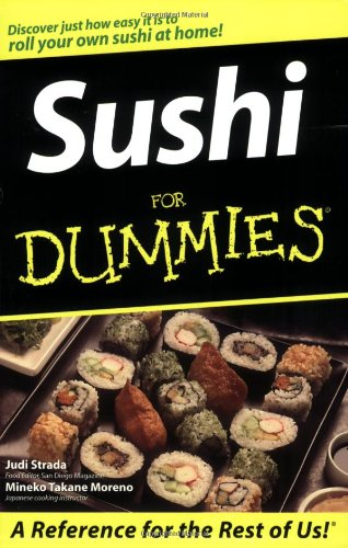 Sushi For Dummies by Judi Strada, Mineko Takane Moreno