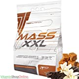 Buy MASS XXL MUTANT 1000g Caramel-vanilla MASS GAINER PROTEIN POWDER MUSCLE SIZE WEIGHT GAIN TREC FREE P&P Comparison-image