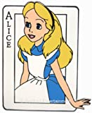 Disney Pins Alice in Wonderland Card Pin