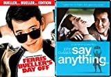 Ferris Bueller's Day Off + Say Anything... Fun Comedy 80's Teen movie Set