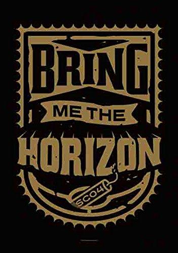 Bring Me The Horizon-Dynamite-Bandiera Poster 100% poliestere-75x 110cm