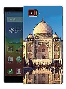 "Taj Mahal Poster Printed Designer Mobile Back Cover For ""Lenovo Vibe Z2 Pro K920"" By Humor Gang (3D, Matte Finish, Premium Quality, Protective Snap On Slim Hard Phone Case, Multi Color)"