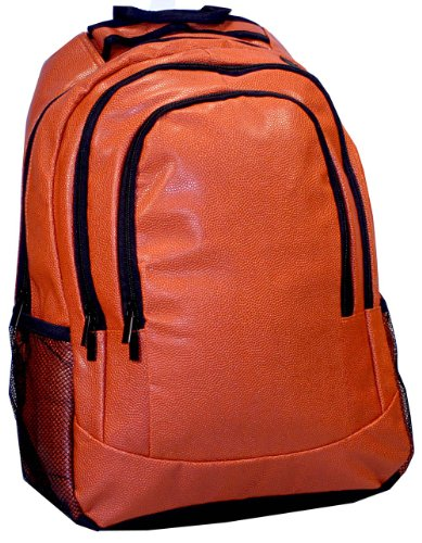 Leather Basketball Backpack