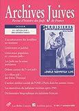 echange, troc Catherine Nicault - Archives juives, N° 39/1, 1er trimest : Le